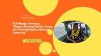 Ragam Kalimat Berita, Tanya dan Perintah dalam Bahasa Lampung